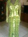 vestido de novia kebaya