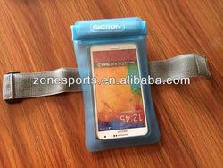 2014HOT SALE Waterproof Zipper Bag,waterproof bag for phone and camera,Swimming and diving equipment
