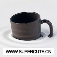 Unique design black/white sinking custom promotion blank coffee ceramic Mug cup printing wholesale