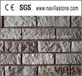 motivo decorativo muro di mattoni esterno falso
