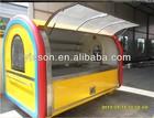 Hot Sale Colorful Food Car/Food Van mobile caravan camper trailer YS-BF300A