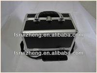 Chinese Aluminum Black wood cosmetic suit case