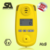 0-50, 0-100, 0-1000ppm Detecting Range Portable H2S Gas Detector, data logging