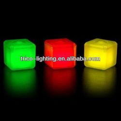 led flashing ice cube