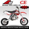 China Apollo ORION Mini Cross 125CC CE DIRT BIKE Racing Pit Bike RFZ OPEN