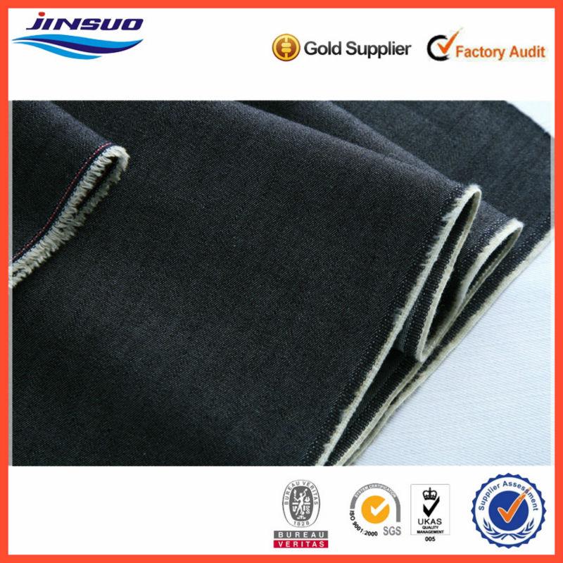 """100% Denim Jeans Fabric Cotton Light Blue 4 oz 32s*32s 59/61"""" Wide"""