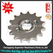 made in china cast steel sprocket,CBX 200 STRADA 13T sprocket,forging 1045 steel bajaj sprocket