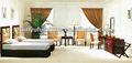 luxo clássico mobília do quarto de hotel da estrela usado xy2932
