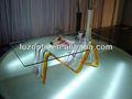 Mesa lateral de acrílico, clear acrílico mesa