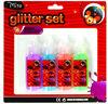 high quality glue 22ml neon blister card glitter glue