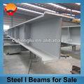 la estructura de acero de material de construcción viga de acero i
