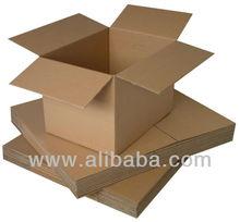 Corrugated Flexo Printing Die-Cut Carton Box Kotak