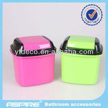 Solid color pp waste basket