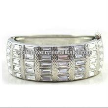 Custom bridal high class crystal bead bracelet