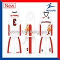 2013 nuevo estilo sublimada baloncesto uniforme
