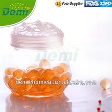 2.0-2.5mm orange cyrstal gel beads for air freshener