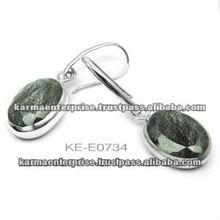 Fashion 925 Silver Huggie Earring