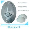 El cesio 99.5% nitrato