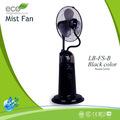 A moda de umidificação névoa ventilador/spray fã stand/stand ventilador de água