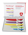 5pcs Color Knife Set Royalty line Switzerland