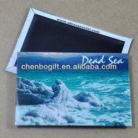 Custom tin metal magnetic fridge, souvenir tin fridge magnet, travel fridge magnets
