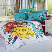 Comforter Brushed Fabric Bedding Sets /100% Polyester Bedding / Duvet Cover Sets