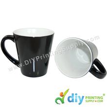 Magic Mug (Cone) (Black) (12oz)
