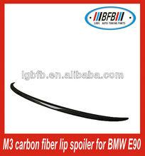 Best price!!! for BMW E90 fiber rear carbon parts lip rear spoiler