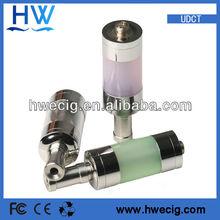 udct tank high quality polypropylene dct tank chrome/black chrome/anodized dct clearomizer udct tanks