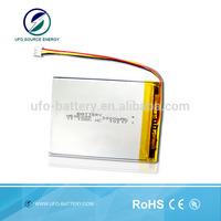 li-ion battery 3.7v 3000mah for tablet PC