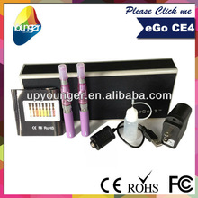 Enough stock China manufacturer E cigarette ego ce4 kit with gift box or ego case promotion