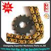 burma hao jue custom motorcycle parts,CG 150 KS roller chain sprocket,Boxer CT double sprocket chain