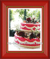 صور كعكة عيد ميلاد جديد تصميم إطار الصورة