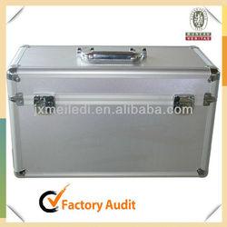 MLDGJ411 Aluminium Tool Case Electronic Equipment Carrying Case Heavy Duty With EVA Mold