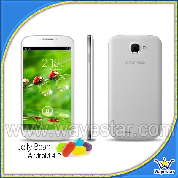 C30 telefono cellulare 3g e telefonos celulares Android 4.2& telefonos Moviles smartphone 5''