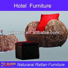 rattan classical used hotel lobby furniture