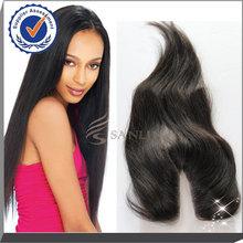 Factory wholsale professional u part lace closure, top grade virgin hair lace closure