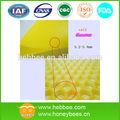 china bienenwachs fabrik benutzerdefiniertes format hoher reinheit gelb stiftung blatt
