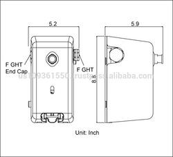 Single Mop Bucket Dispenser, 8167P