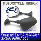 For KAWASAKI ZX-10R 2004-2007 Black Bar End Motorcycle Mirrors FMIKA004