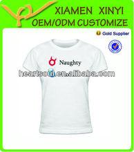 Custom high quality printed t shirt online shop