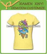 Custom 100% Cotton fashion printing Tshirt Premium quality