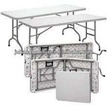 White Plastic Long Folding Table JH-T12