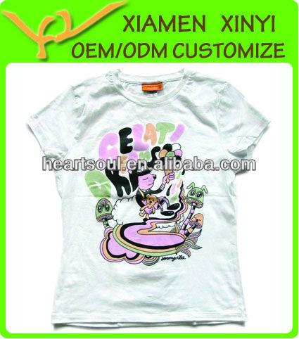fashion promotion t-shirt korea design 2014