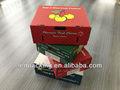 Caixa de papelão ondulado para apple caixa de papelão
