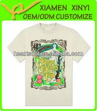 Very Popular Custom Logo Male O-neck T-shirts Quality