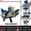 Zhuxin portable single Head Table Key Cutting Machine(DC12V) key cutting machine/081043