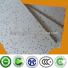 mineral wool board/tegular mineral fiber ceiling tiles/acoustic board 595*595*12mm
