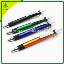 CGB-Y046 high quality supplies plastic gel logo ball point pen with logo