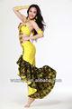 2014 nueva llegada de sirena de la india de danza del vientre traje